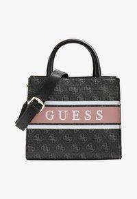 Guess - MONIQUE - Handtas - mehrfarbig schwarz - 0