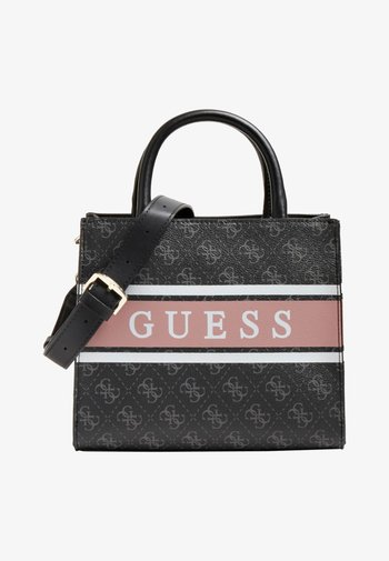 MONIQUE - Handbag - mehrfarbig schwarz