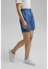 Esprit - Denim shorts - blue medium wash - 3