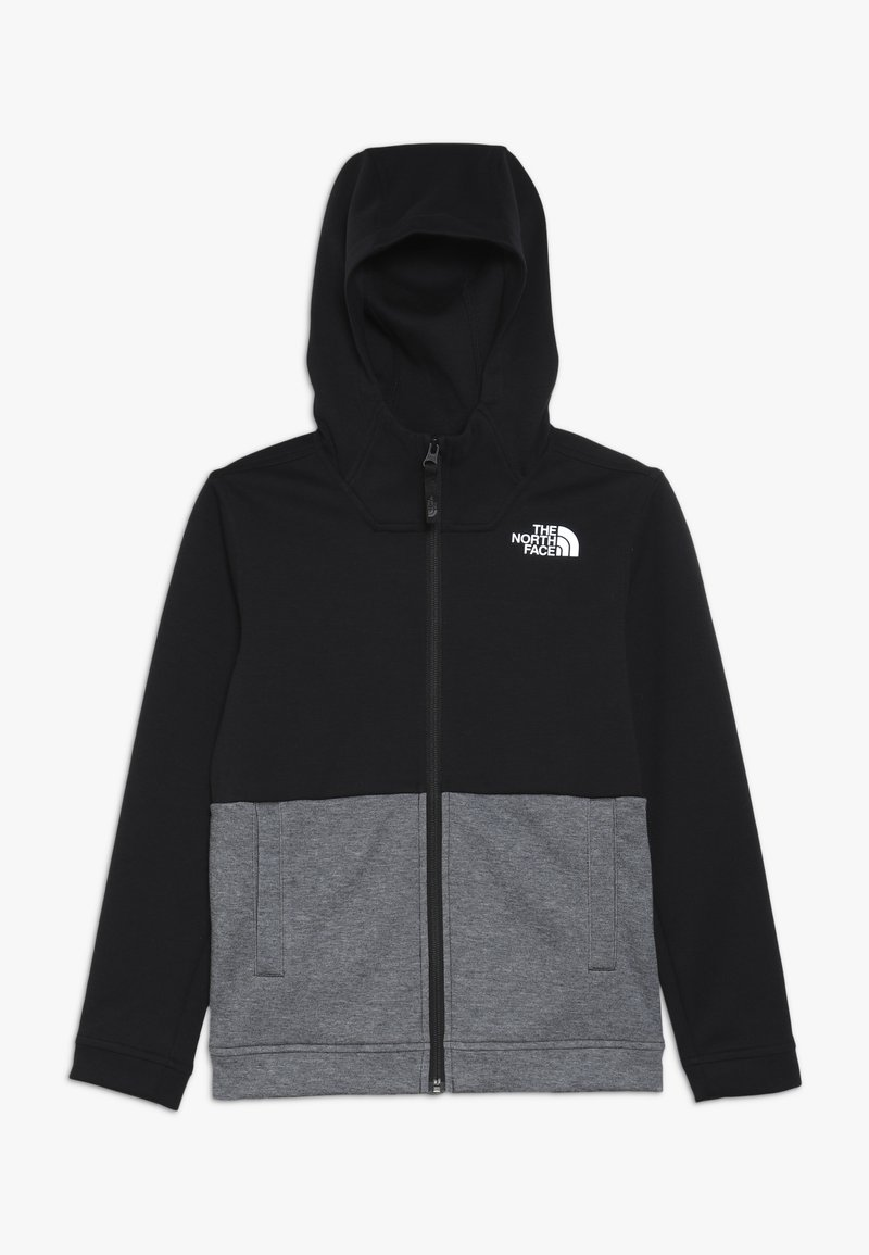 The North Face - SLACKER - Huvtröja med dragkedja - tnf black
