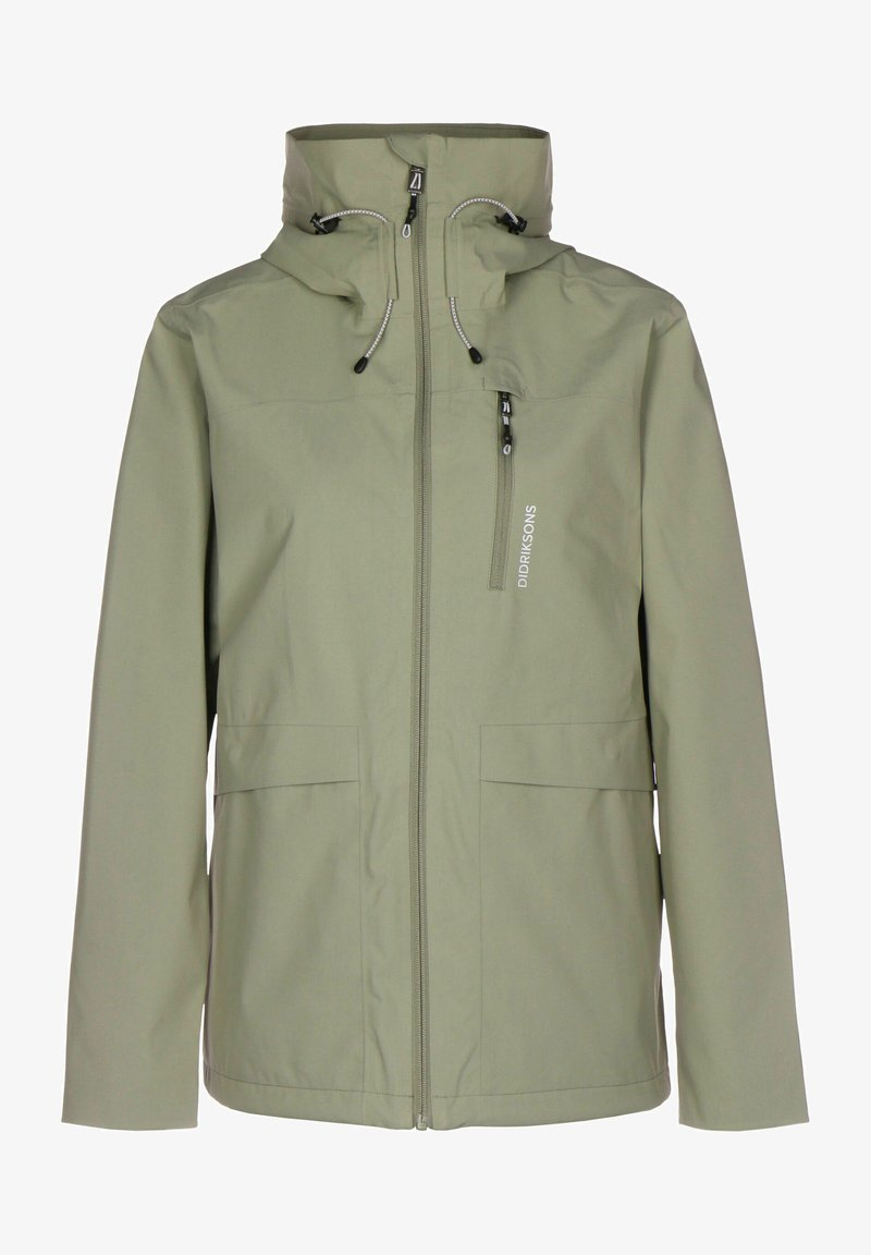 Didriksons - WIDA - Giacca outdoor - mistel green