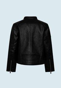 Pepe Jeans - Faux leather jacket - black - 1