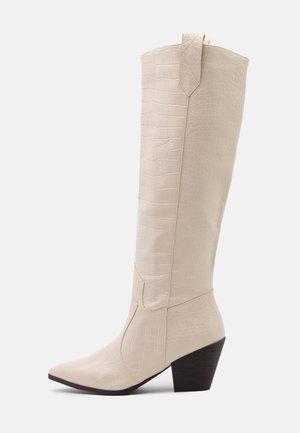 JOSEFINA - Cowboy/Biker boots - offwhite