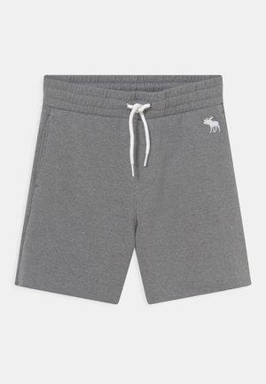 SUMMER RAW HEM - Shorts - grey