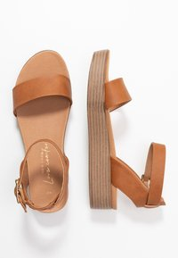New Look - GENIUS - Sandalias con plataforma - tan - 3
