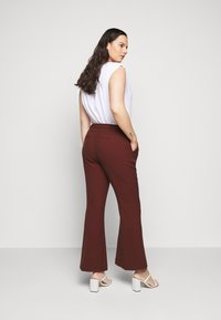 CAPSULE by Simply Be - TROUSERS - Trousers - rust - 2