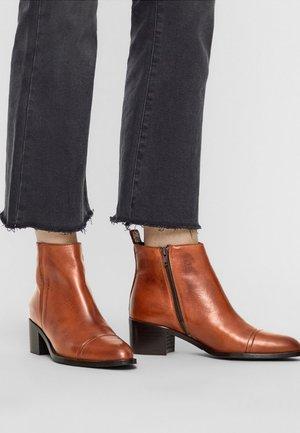 BFCAROL - Ankle boots - cognac