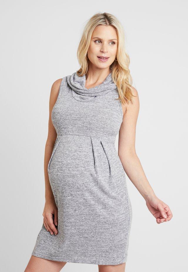 DRESS - Jumper dress - ash