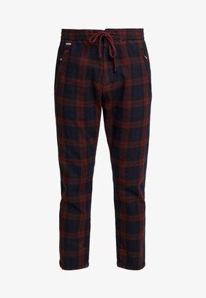 EDIT TAPER DRAWSTRING PANT - Trousers - red