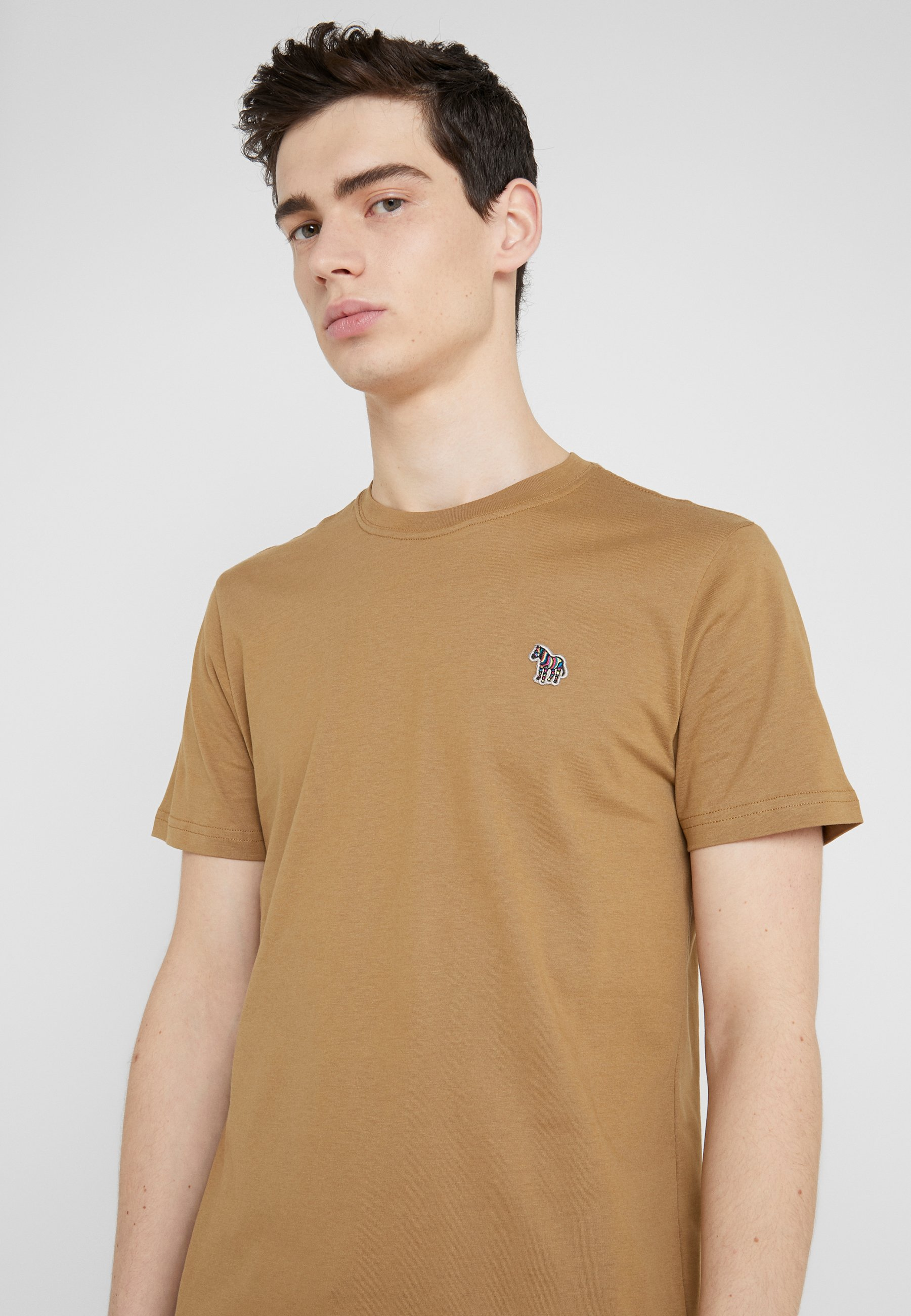 PS Paul Smith ZEBRA  - T-shirt basique - mustard