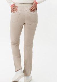 BRAX - STYLE PAMINA - Trousers - sand - 1