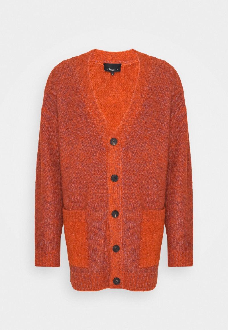 3.1 Phillip Lim - COZY LAYERING CARDIGAN - Kardigan - bright orange