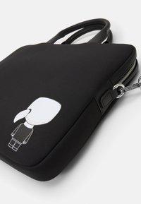 KARL LAGERFELD - IKONIK LAPTOP SLEEVE STRAP - Briefcase - black - 6