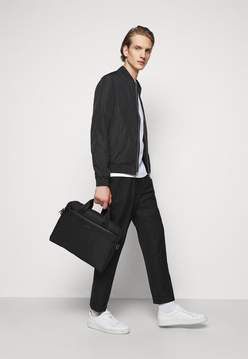 HUGO - LUXOWN DOC CASE UNISEX - Laptop bag - black
