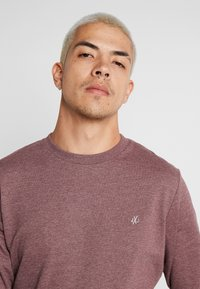 Jack & Jones - JORBASIC CREW NECK 2 PACK - Bluza - total eclipse - 4