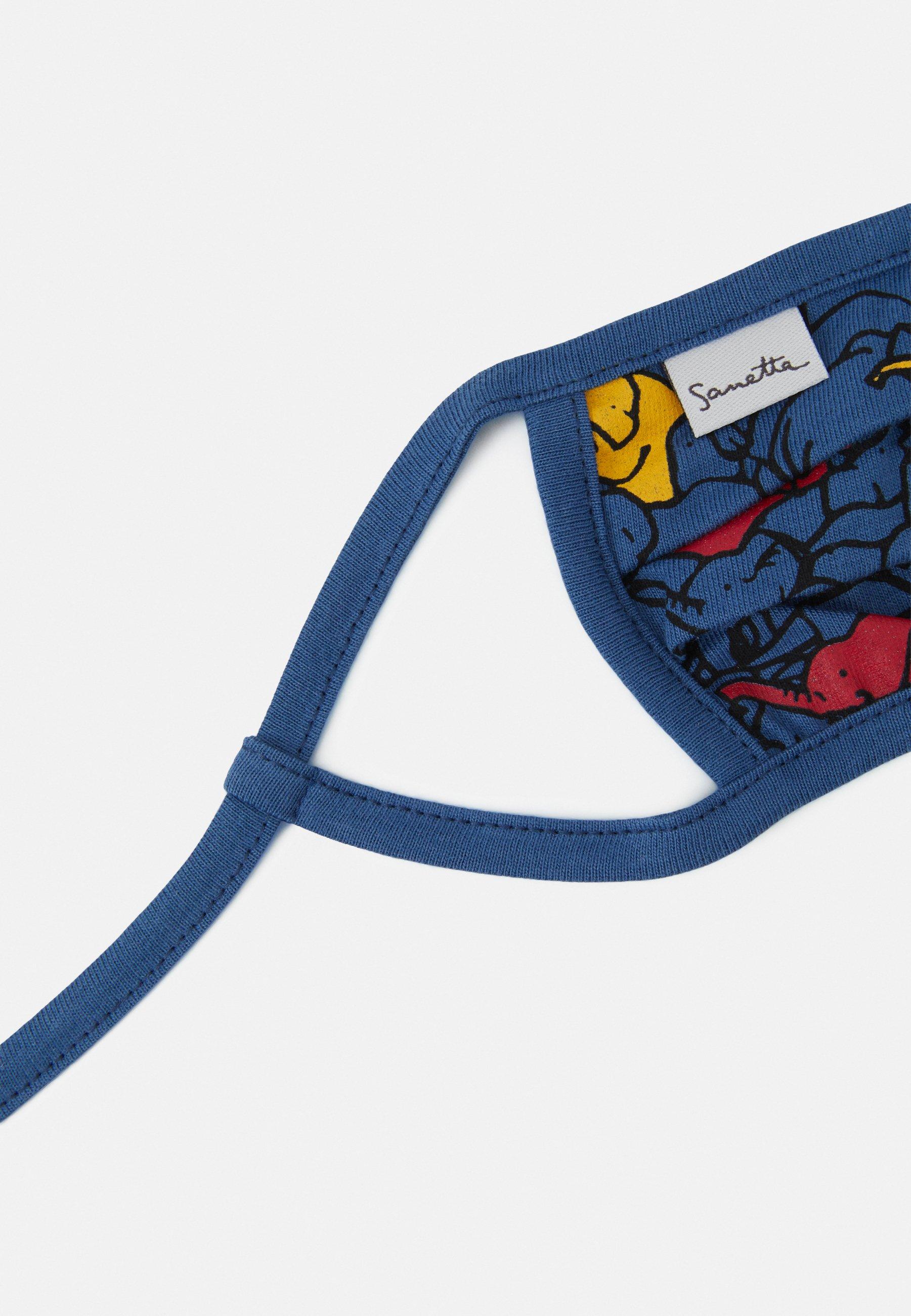 Sanetta FACEMASK 2 PACK - Munnbind i tøy - dark blue/mørkeblå RAvlNBEZba5FMM1