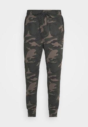 MANCHEGO TAPED JOGGER PANT PRINTS - Teplákové kalhoty - green