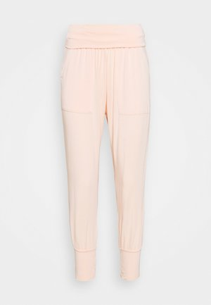 YOGA PANTS - Tracksuit bottoms - peach rose
