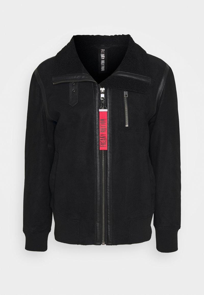 Freaky Nation - TOGIAK - Leather jacket - black