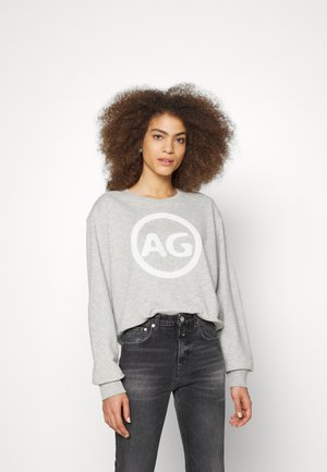 BOXY LOGO - Sweatshirt - grey marl
