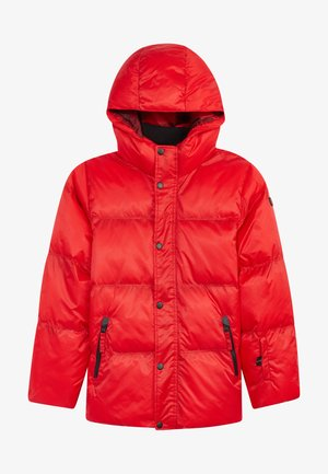Soft shell jacket - fiery red