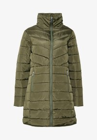 Dorothy Perkins - SUSTAINABLE LONG JACKET - Classic coat - khaki - 4