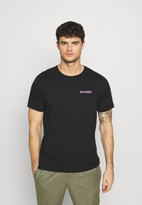 YOURTURN - T-shirt med print - black - 0