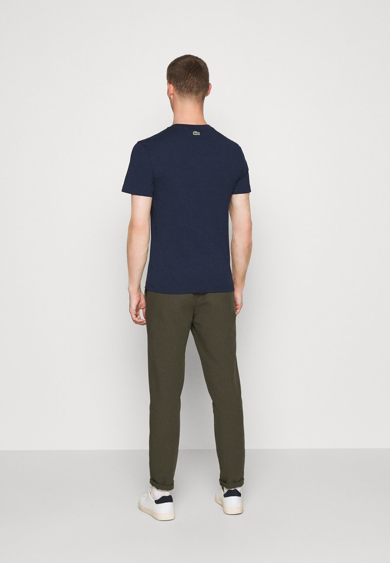 Lacoste - T-shirt print - dark blue
