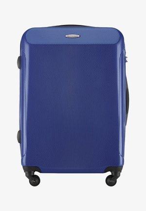 Wheeled suitcase - marineblau