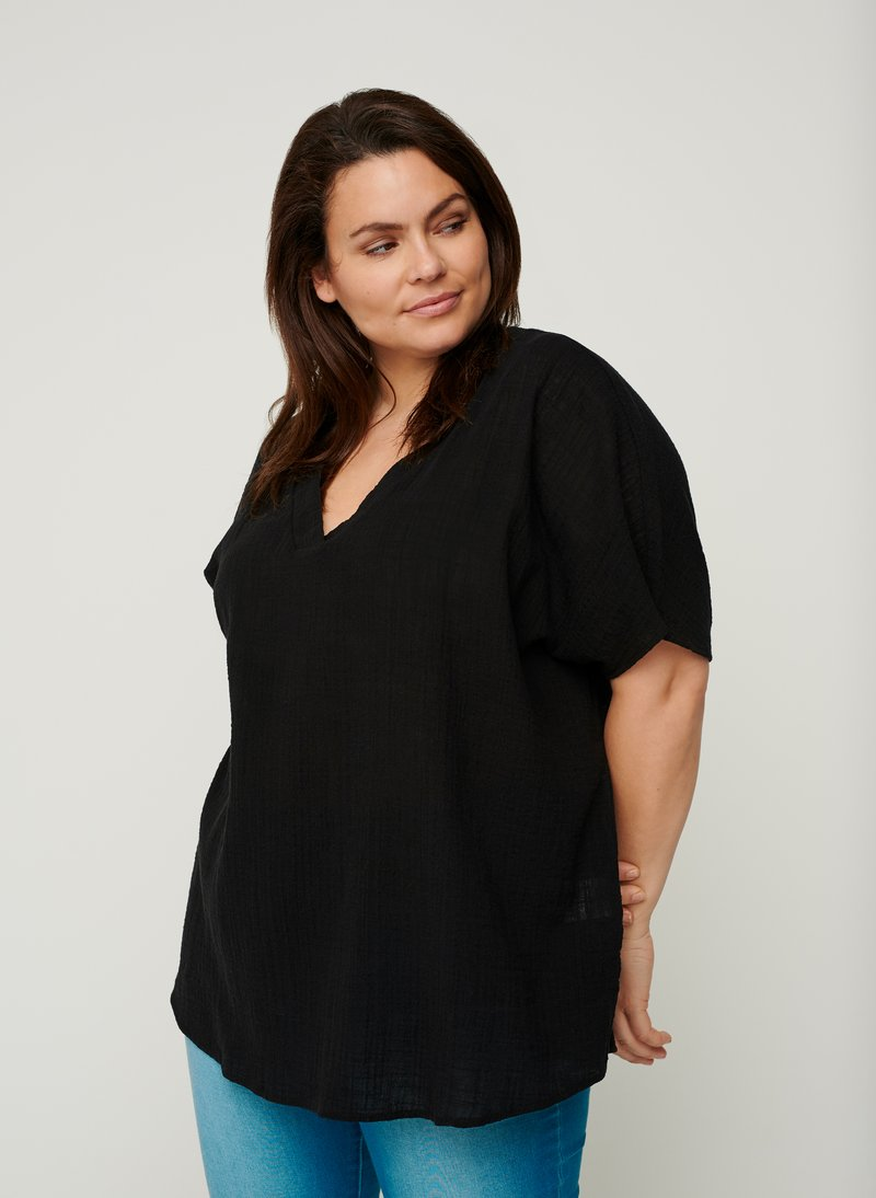 Zizzi - Blouse - black