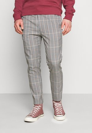 HERI CHECK WHYATT - Pantaloni - off white