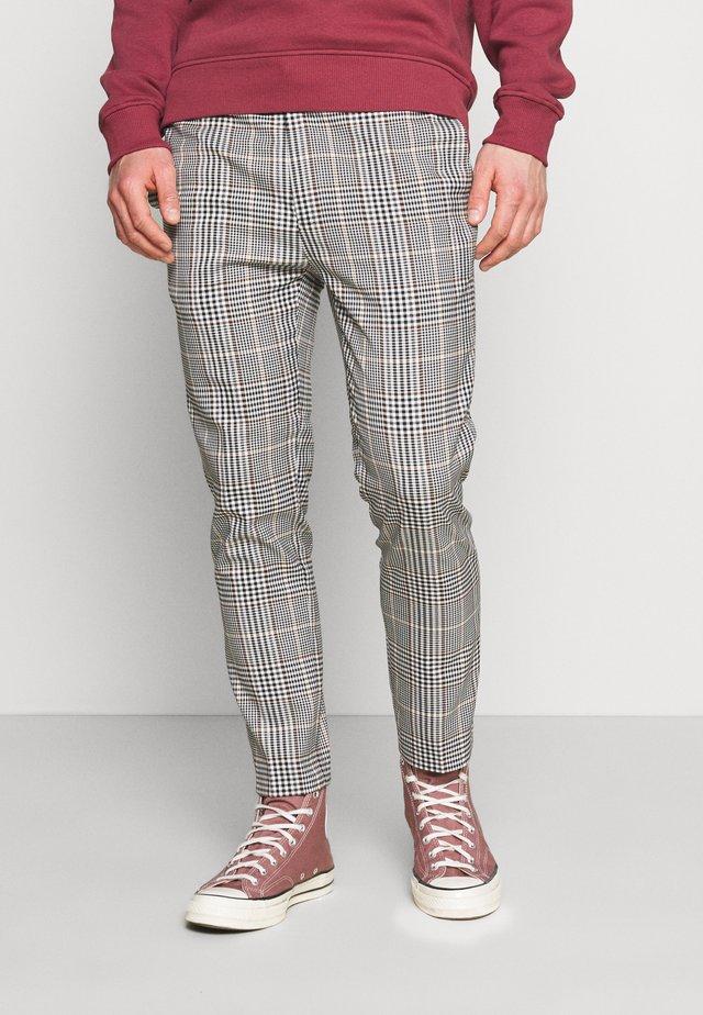 HERI CHECK WHYATT - Pantaloni - off white