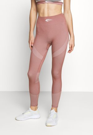 SEAMLESS LEGGINGS ULTIMATE - Medias - altrosa