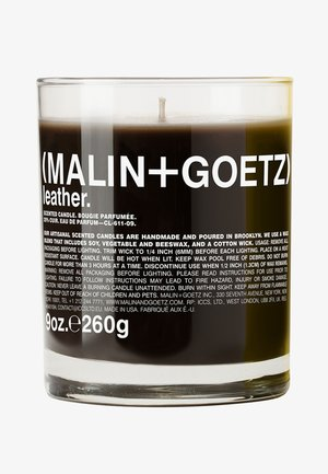DUFTKERZE LEATHER CANDLE - Scented candle - -