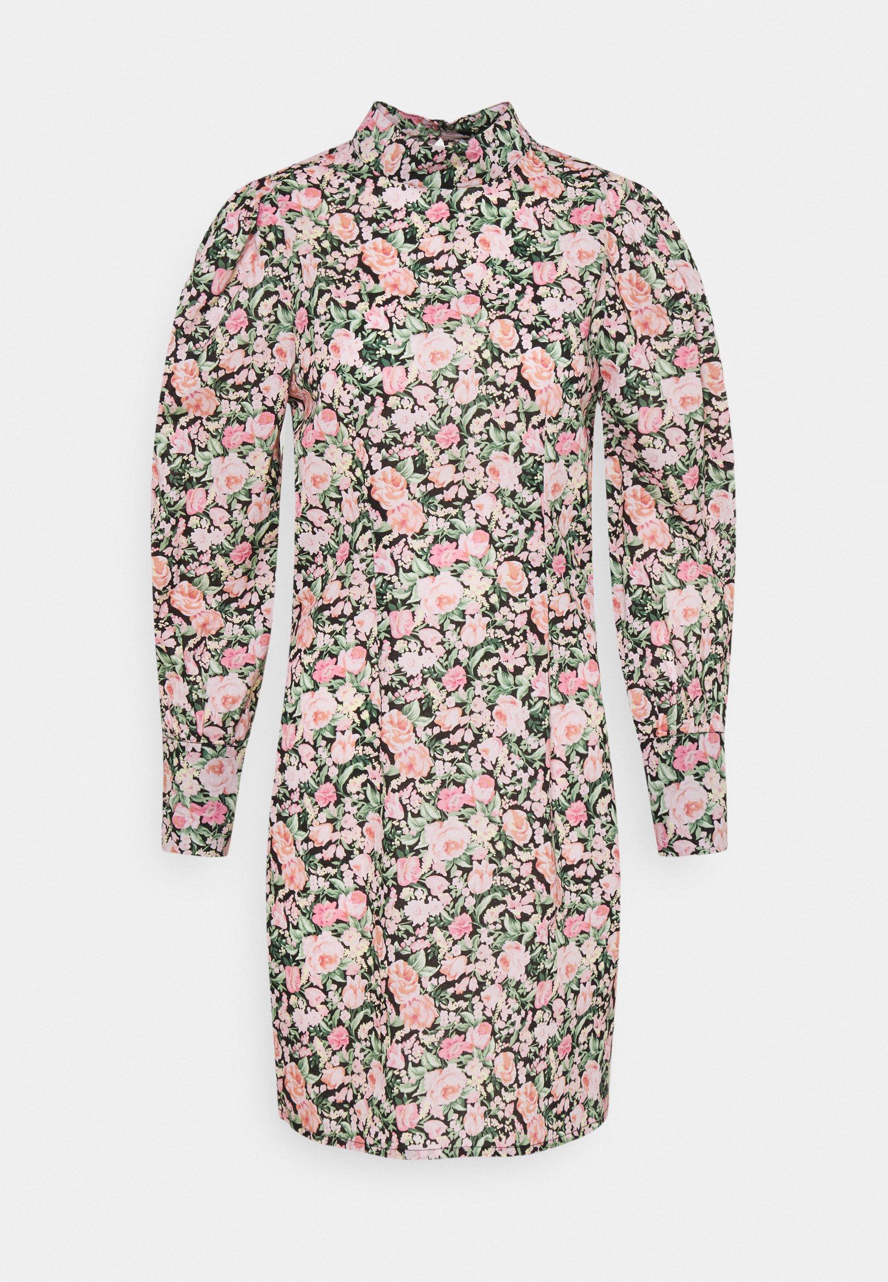 Women ONLLAURA FLOWER DRESS - Day dress