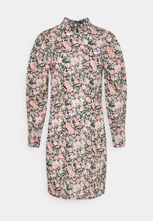 ONLLAURA FLOWER DRESS - Denní šaty - black