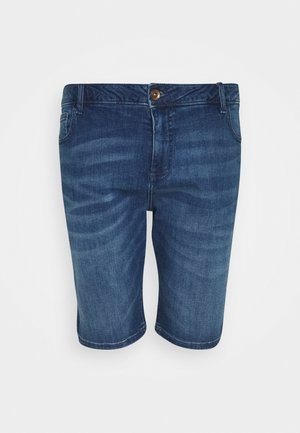 LODGER PLUS - Denim shorts - stone used