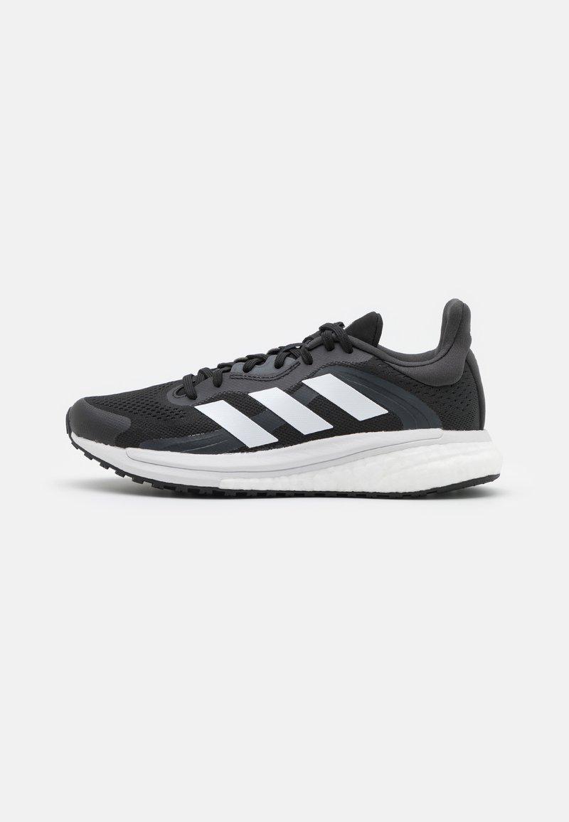 adidas Performance - SOLAR GLIDE 4 ST  - Stabiliteit hardloopschoenen - core black/footwear white/grey six