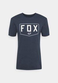 Fox Racing - SHIELD PREMIUM TEE - Print T-shirt - midnight - 4