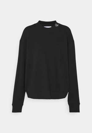 SLUB PANELLED  - Sweatshirt - black