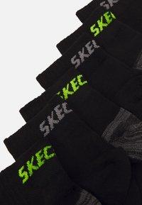 Skechers - BASIC QUARTER VENTILATION 8 PACK - Sokken - black - 1