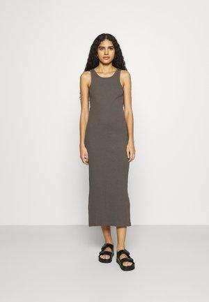 RANCHO TANK DRESS - Jersey dress - pavement