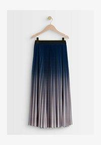 Maison 123 - Pleated skirt - bleu marine - 2