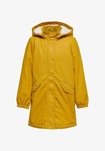 Parka - golden yellow