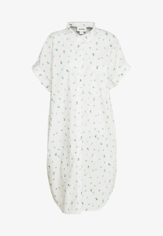 WANNA DRESS - Shirt dress - white