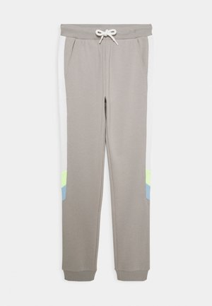 TEENS TROUSER NARROW PANEL - Tracksuit bottoms - light dusty grey