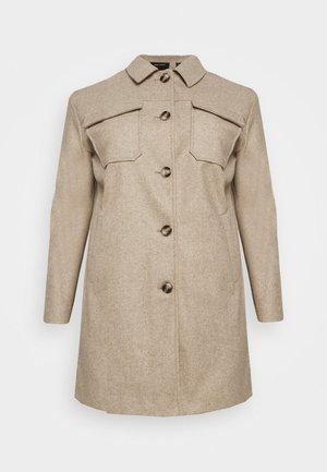 VMBONUSRAY JACKET - Classic coat - silver mink melange