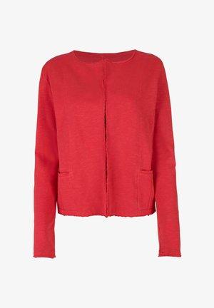 CARSTINEL - Zip-up hoodie - rot