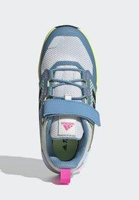 adidas Performance - TERREX TRAILMAKER - Zapatillas de senderismo - crystal white/core black/screaming pink - 3