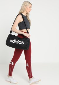 adidas Performance - LIN CORE  - Bolsa de deporte - black/white - 1
